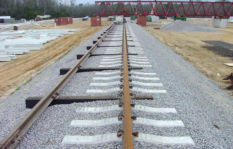 crane rail rolling